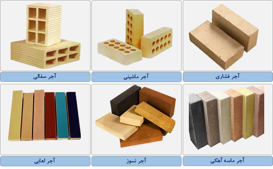 مرکز پخش انواع آجر ساختمانی