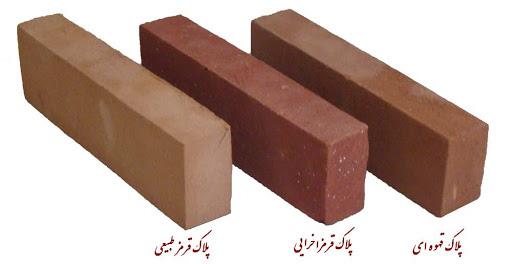 پخش انواع آجر ساختمان